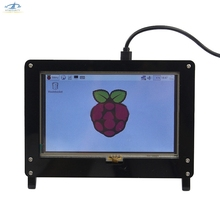 [HFSECURITY] Protective Shell for 5Inch Raspberry Pi Capacitive Touch Screen HDMI USB 1024*600 LCD IPS Display Cover