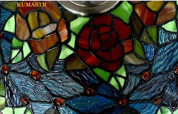 Tiffany Rose Lamp 22