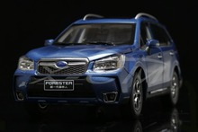 Diecast Car Model Subaru Forester 1:18 (Blue) + SMALL GIFT!!!!!!!!!!!