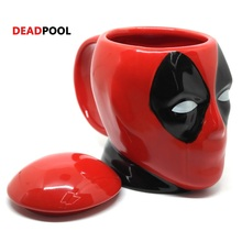New Creative Star Wars Mug DEADPOOL Mug 3D Coffee And Drink Cup High Temperature Manufacture Quality Ceramics Nice Quality(China)