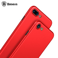 Baseus Luxury Cases For iPhone 8 Soft PP Smooth Matte Mobile Phone Back Cover Case For iPhone 8 Cover Full Protect Shell Case(China)