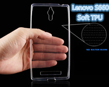 for Lenovo S660 Case, Ultra-thin Transparent Soft Good Protective Soft TPU Silicon Cover Case For lenovo s660 Case Phone Cover