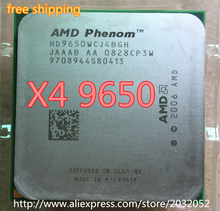 AMD Phenom X4 9650 (HD9650WCJ4BGH) CPU 2.3 GHz Quad Core Socket AM2+ 9650 can work