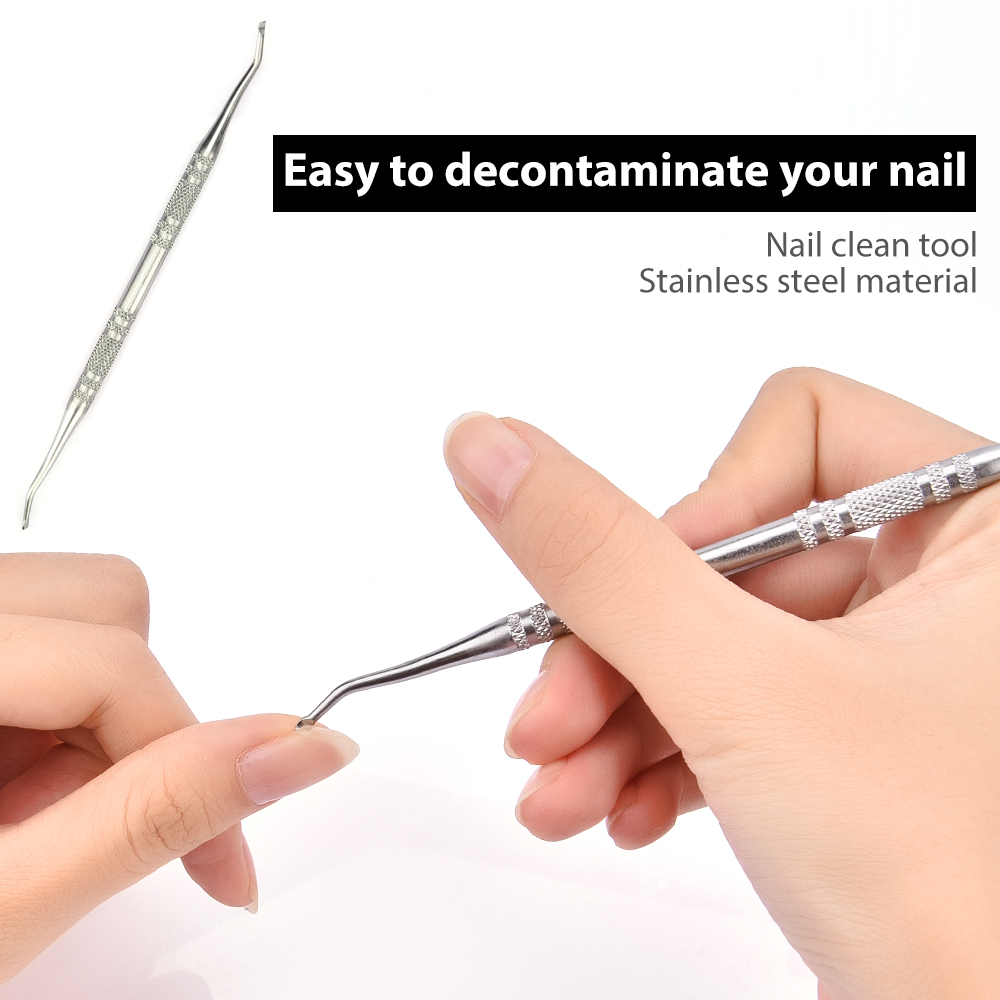 Easy to decontaminate your nail