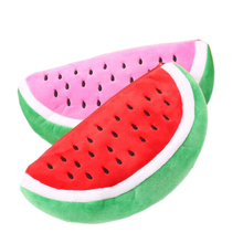 Newest Practical Big Volume Watermelon Fruit Kids Pen Pencil Bag Case Gift Cosmetics Purse Wallet Holder Pouch School Supplies(China)