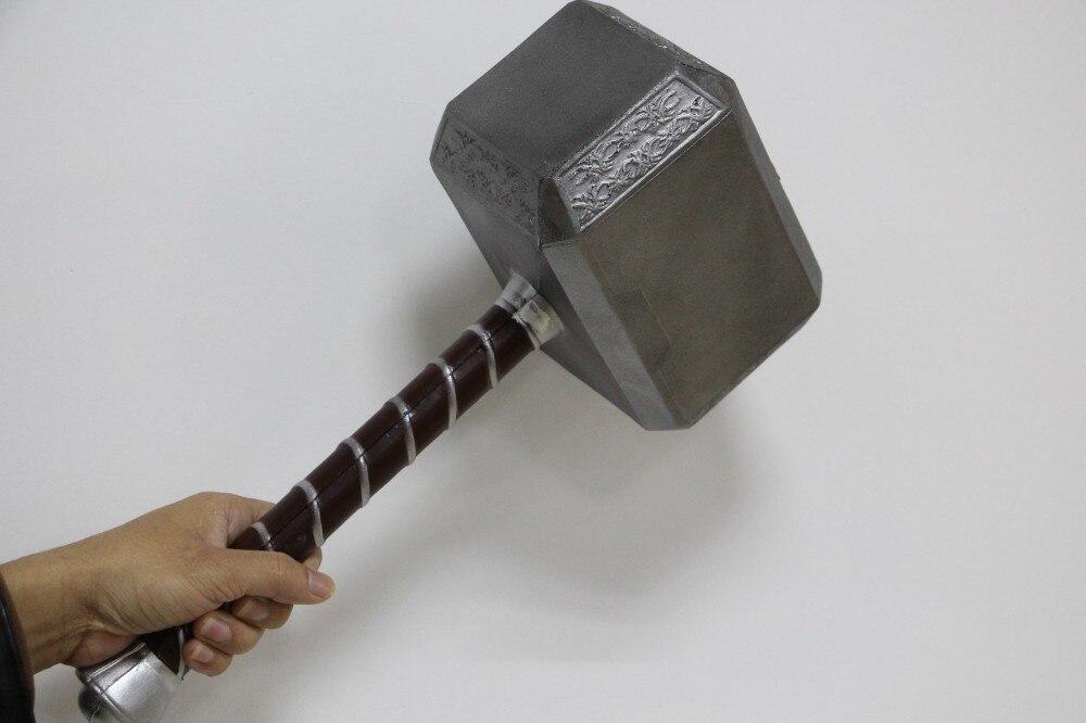 New types 1:1 Scale Thor Hammer Mjolnir 1/1 Replica Thor Custom Cosplay Hammer<br>
