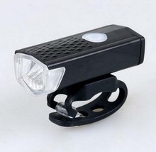 New Lights Bicycle Lights Silica USB Charging Headlight Mountain Road Bike Light 2 color