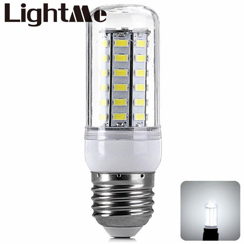 2016 New Arrival High Power E27 7W 1400LM 48 x SMD-5730 220 - 240V LEDs Home Use LED White Corn Light Lighting Bulb LB01731<br><br>Aliexpress