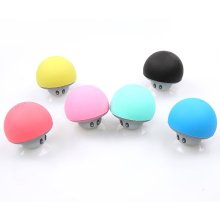 Cute Mini Mushroom Shape Wireless Bluetooth Speaker with Mic Portable Stereo Subwoofer Sound Player For Smart Phone iPhone