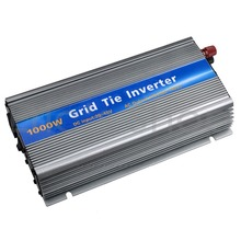 Pure Sine Wave Inverter 1000W Grid Tie Inverter DC20V-45V to AC110V Fit For 24V/36V For 60cells/72cells Panel With MPPT Function