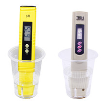 Digital pH Meter HIGH ACCURACY POCKET SIZE 0.01 RESOLUTION TDS Tester for Household Drinking, Pool Aquarium Water(China)