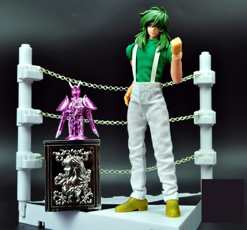 model saint seiya Cloth Myth EX 2.0 Fairy Shun Mufti Cloth form and cloth box Challenge Scene<br><br>Aliexpress