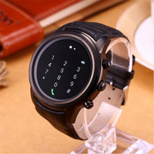 2017 FINOW X5 1.4 Inch Round Smartwatch Android 4.4 MTK6572 Mobile Wristwatch Wifi Music BT 512M+4G Heart Rate Monitor GPS Watch(China)