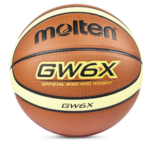 Official Size And Weight Women Molten GW6X Basketball Ball PU Leather Basket Basketball Ball Free Gifts With Net Needle Pin