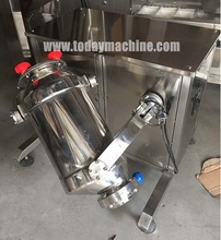 Stainless Steel 3D Type Powder Mixer Machine for Sale(China)