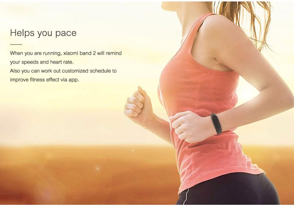 In stock 100% Original Xiaomi Mi smart wristband Xiomi Fitness Bracelet miband 2 mi band 2 for Xiaomi Mi6 sport tracker 7
