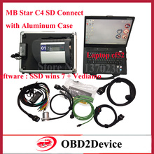 V2017.07 SSD MB Star Diagnosis C4 with Laptop CF52 +MB Star C4 Software Vediamo/Xentry/HHT with Al Suitcase For SD Connect C4
