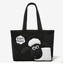 2016 Japan Cute Sheep Mama Bag Women Handbag UK Cartoon Shopping Bag Big Lunch bag