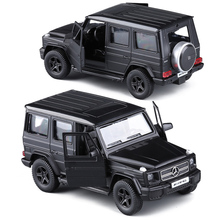 RMZ Matte Black 1:36 G63/E63/GLS63 AMG Toy Vehicles Alloy Pull Back Mini Car Replica Authorized By The Original Factory Model