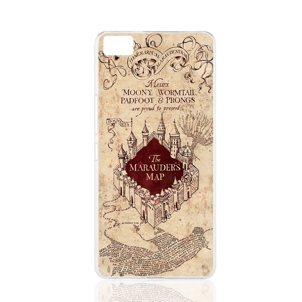 19989 MARAUDERS MAP harry potter cell phone Cover Case for BQ Aquaris M5 for ZUK Z1 FOR GOOGLE nexus 6(China (Mainland))