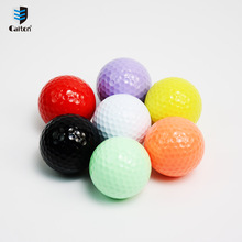 Caiton color Floating golf balls Water golf practice ball(China)