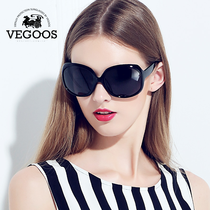 VEGOOS Luxury Brand Designer Polarized Sunglasses women Driving Sun Glasses Polaroid Fashion Big Frame Free Shipping New #9039<br><br>Aliexpress