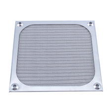 120mm Fan Aluminum Dustproof Cover Dust Filter for PC Cooling Chassis Fan Grill Guard