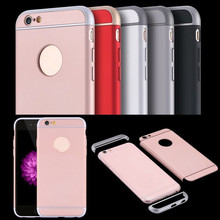2017 New Ultra Thin 3 in 1 Case Armor Hybrid Shockproof Hard PC Cover for iPhone5/5s/6/6s/6plus/6splus/7/7Plus