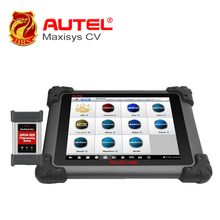 "AUTEL Car scanner MaxiSys 8"" MS908 CV Android 4.4.2 OS Free Online Update Full System ECU Coding Diagnostic Tool for Heavy Duty(China)"