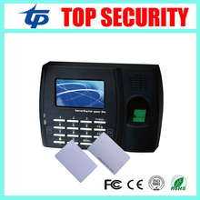 New Arrived U8 Fingerprint Time Attendance Machine With Two Card Reader Can Read Both RFID And IC Card ZK Attendance System