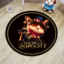 Cute Cartoon Round Bath Carpet Rugs Floor Mats,Diameter 60/80/100cm Non Slip Mats Absorbent Bath Mat Bathroom Shower Rug,tapete(China)