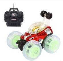 Trolley stunt car dump truck remote control car off-road remote control car mold charge electric racing children toy car boy(China)