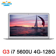 Partaker G3 13.3 Inch Notebook PC Intel Dual Core I7 5600U With 4G RAM 128G SSD Free Shipping
