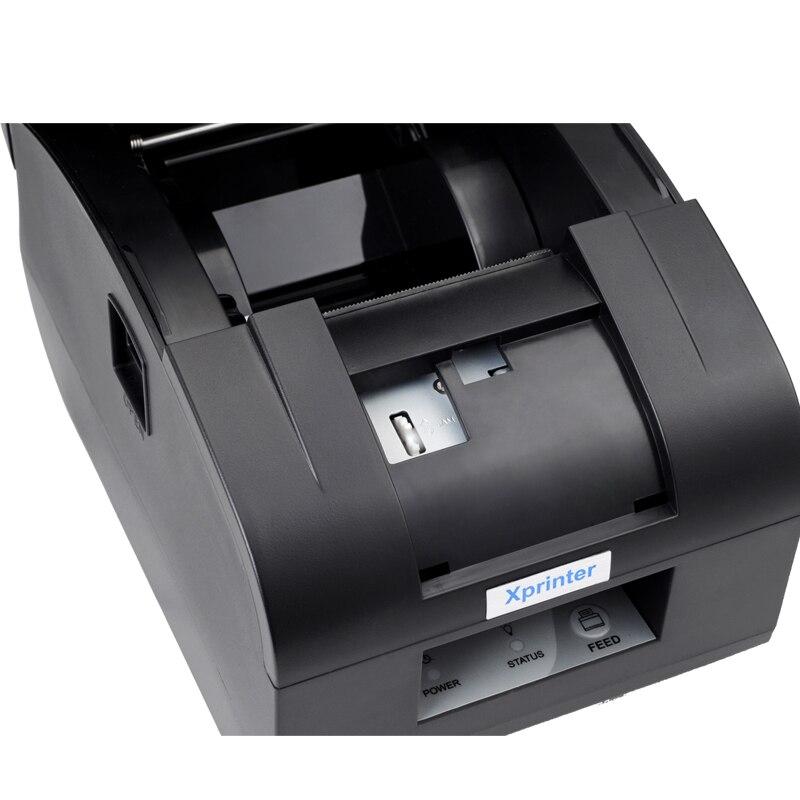 Black USB port 2 58mm thermal receipt/mini/pos printer auto cutter autocutter printer Receipt printer<br><br>Aliexpress