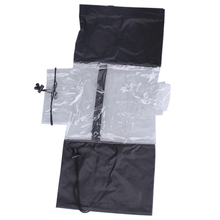 Waterproof Camera Cover Anti-Dust Protector Rain Water Case Camera Rain Cover Raincoat Transparent Black for Canon 5D3 70D 6D