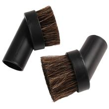 24mm Home Use Horse Hair Dusting Brush Dust Clean Tool Round Attachment Vacuum Cleaner Accessory(China)
