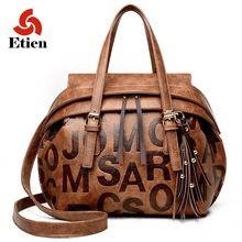 Large women's handbags Women bags leather handbag shoulder bags luxury designer Messenger bag leather women brand famous satchel