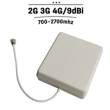 9dBi Outdoor Panel Antenna 700mhz-2700hz Outside GSM 3G 4G Antenna External Cell Phone Aerial For Mobile Phone Signal Booster