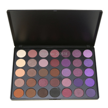 35 Color Eyeshadow Palette Make up Pallete Shimmer Matte Powder Beauty Makeup Set Smoky Powder Nature Colour(China)