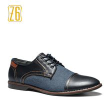 2017 men casual shoes handmade breathable comfortable jeans Z6 brand men shoes #W3186-6(China)