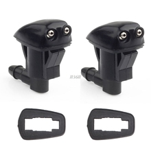 2x Front Windshield Washer Wiper Spray Nozzle For Jeep Grand Cherokee 2005-2010 MAY11