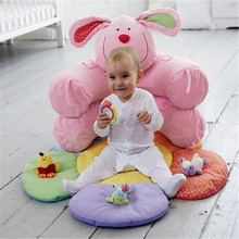 6 Styles Popular Blossom Farm Sit Me Up Cosy Inflatable Baby Sofa Seat Infant Play Mats Toddler Sitting Toy In Bulk Packing(China)