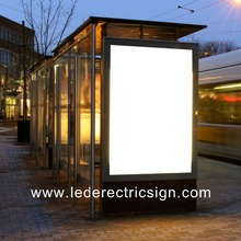 Bus stop led advertising light boxes(China)