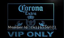 LA417- Corona Extra VIP Only Beer   LED Neon Light Sign     home decor  crafts