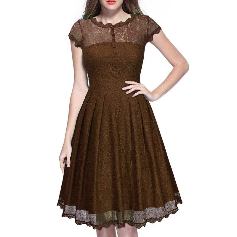 women dress-brown