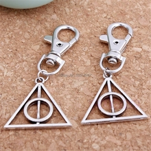 5pc/set Novelty Souvenir Mini Metal Tool Key Chain Keyring For Harry Potter Key Chain Creative Gift-W128