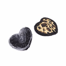 Buy Reusable Leopard Nipple Cover Women Tepel Cover Sexy Pasties Self Adhesive Breast Tape Fetish Bra Accessories