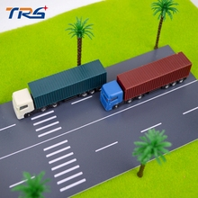 Teraysun 1/150 Model Trains Layout Scale Model Container Trucks 6pcs(China)