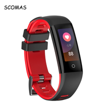 Buy SCOMAS G16 Bluetooth Smartband Heart Rate Monitor Sports Fitness Activity Tracker Color Display Smart Wristband Android IOS for $23.81 in AliExpress store