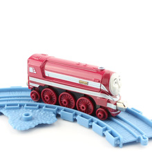 CAITLIN Diesel Engines Locomotive Thomas and friends trains tomas metal magnetic trains the tanks diecast models kids baby gifts(China)